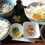 将平 - 料理写真:天ぷら定食 \1400