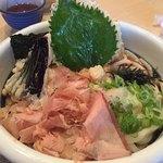 うどん ゆきの - 料理写真:天ぷらぶっかけ