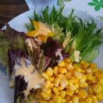 SIMBA - 野菜サラダ(ミニトマト食べちゃったしょ…)
