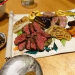 ほいっぽ - 黒毛和牛ステーキ ハラミ&リブロース