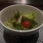 鉄板焼 石垣島きたうち牧場 - 石垣島野菜のサラダ