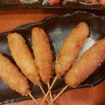 豊年満作 - 島産豚の串カツ