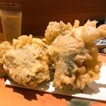 上本町 富喜 - 鱧の天ぷら
