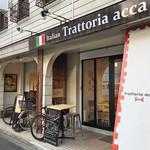TRATTORIA ACCA - 西院駅から徒歩6分ほど('18.8月初め)
