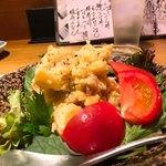 上本町 富喜 - 安定のポテサラ