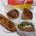 ジャーマンベーカリー - パン4種