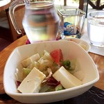 イゾラ ベーラ - お豆腐サラダ