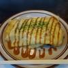 喜作 - 料理写真:ホルモン焼きそば オムソバ