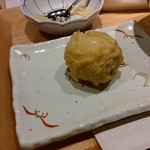 90340518 - 半熟卵の天ぷら