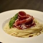 90341773 - トマトと生ハムのチーズ冷麺