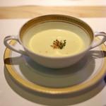 90343571 - とうもろこしの冷製スープ