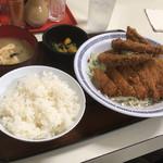 90344491 - 【鶏野菜定食】(500円)