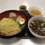 もりもり亭 - 煮干しつけ麺。