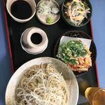 そば処 いま泉 - 料理写真:大根そば700円に大盛+150円です。