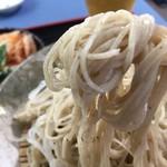 そば処 いま泉 - 蕎麦は、以前より細め?