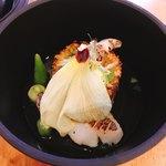 セーナ オブトシフォリア - 活け締め 茂魚 とその出汁で炊いたご飯