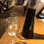 ホルモン・ジンギスカン たたら - 赤ワイン&デキャンタ