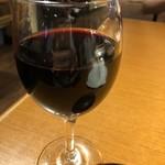 ホルモン・ジンギスカン たたら - 赤ワイン