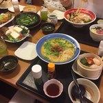 味の民芸 - 白胡麻坦々麺セット