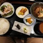 簾 - 銀鱈と大根煮1200円
