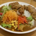 イートイット - 料理写真:ビーフカツ野菜カレー