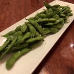 カフェアンドバー とまり木 ひなた - 枝豆