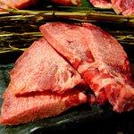 9035164 - 仙台黒毛和牛厚切りタン塩