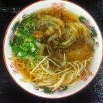 麺処 十 - てんぷら中華そば。
