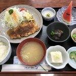 食事処 栗の里 - 料理写真:ポークソテー定食
