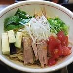 麺乃家 - 【(限定) 冷製 大人の和え麺 中】¥950