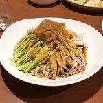 菜遊記 - 料理写真:芝麻三絲麺