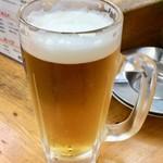 たから屋 - 生ビール(中)