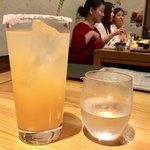 五郎 - 雪見酒 580円、五郎酒 辛口純米 半合  一合480円