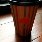 バイロンベイ コーヒー - カップのマークはオーストラリア