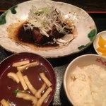 ガシラ - 銀むつ煮付定食 950円 (ごはん少なめで−50円(^-^) )