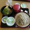 たけやま - 料理写真:ざる蕎麦天丼