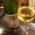 ヴェール パール ナオミ オオガキ - グラスワインの2~3杯目はアルザスで