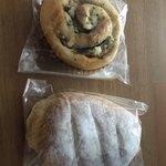 エッセン - 下の米粉パンがとても美味しかった。ぜひまた食べたい
