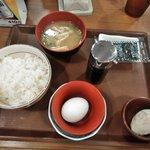 Sukiya - たまかけ朝食(ご飯ミニ)