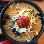 90355834 - 野菜味噌麺
