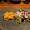 らく天 - 料理写真:オレンジ色のウニが絶品