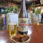 大番 - 瓶ビール(中) 550円