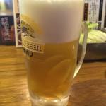 串かつ でんがな - 生ビール(キリン一番搾り)