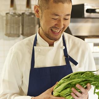 森本シェフ、優しさが料理に滲み出てます
