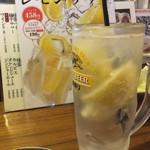串かつ でんがな - めっちゃレモンサワー