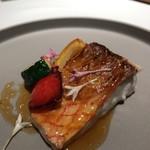 レストラン ラリューム - 鹿児島県産尾長鯛のブランシャ焼き