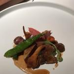レストラン ラリューム - フランス産小鳩のロースト
