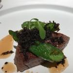 レストラン ラリューム - 熊本産あか牛フィレ肉のロースト