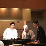 レストラン ラリューム - 左:進藤シェフ 右:熊澤氏