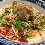 春秋庵 - 料理写真:2018冷やしホワイト担々麺